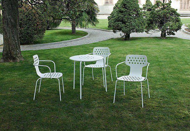 tavolini e sedie in inox 304 verniciati